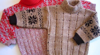 How to steam knits