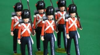 Как отливать оловянных солдатиков