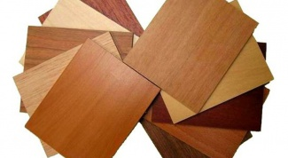 What is the wood veneer
