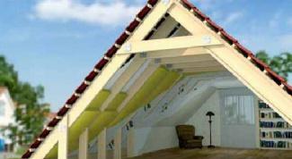 Как утеплить крышу жилого дома