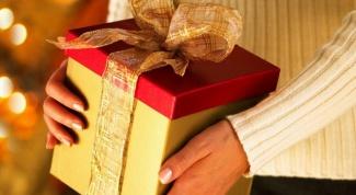 сделать подарок на Новый год