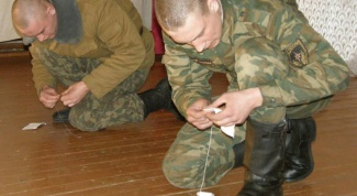 How to sew a military uniform