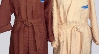 Как раскроить халат