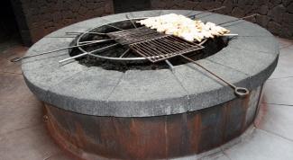 Как построить садовую печь