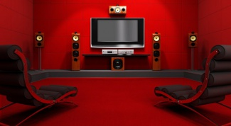 How to connect home cinema to PC