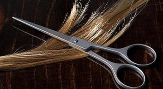 Как отстричь волосы