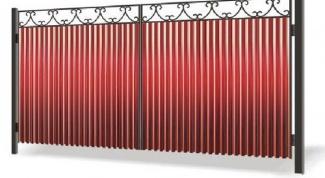 Как установить столбы для ворот