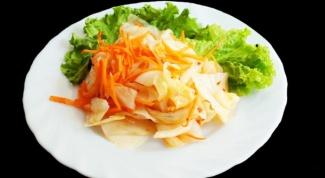 Как приготовить капусту провансаль