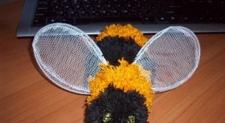 Как сшить пчелку