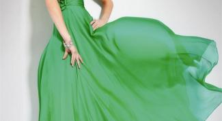 Как подобрать макияж под зеленое платье