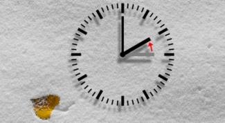 Как перевести часы на зимнее время
