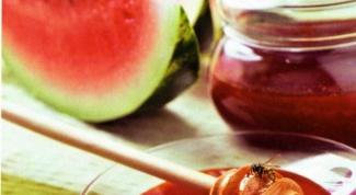 Как приготовить вкусное арбузное варенье
