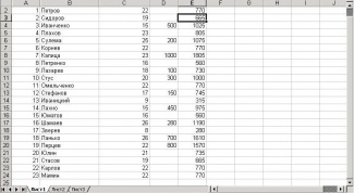 How to calculate formulas in Excel
