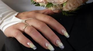 Как сделать свадебный дизайн ногтей