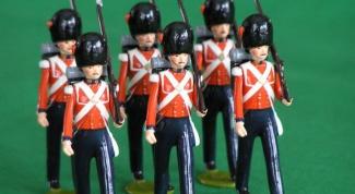 Как делать оловянных солдатиков
