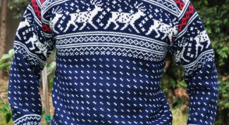 Как связать норвежский свитер