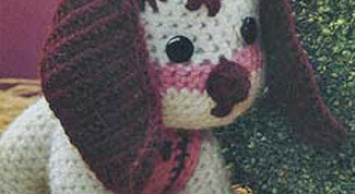 How to knit a toy dog crochet