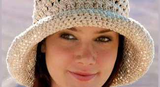 Как связать крючком женскую шляпу