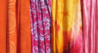 Как ухаживать за одеждой из батика