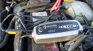 Как зарядить машинный аккумулятор