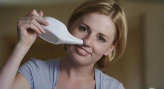 Как очистить пазухи носа
