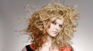Как выпрямить волосы после химической завивки