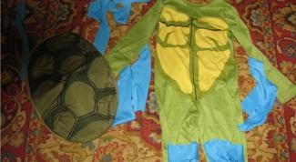 Как сделать костюм черепашки ниндзя