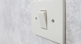 Как присоединить выключатель