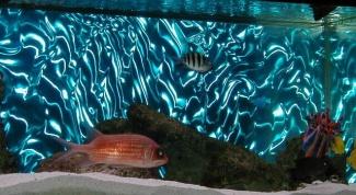 Как клеить пленку на аквариум