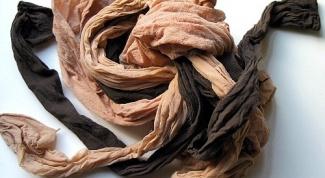 Как стирать капроновые колготки