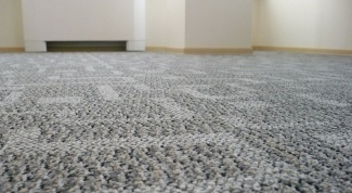 How to handle the edge of the carpet