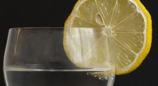 Как пить лимонный сок