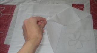 Как складывать марлевый подгузник