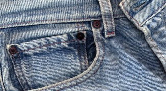 How to remove glue from jeans