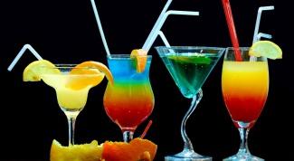 Как подавать коктейли