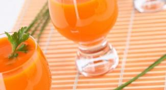 Как употреблять морковный сок