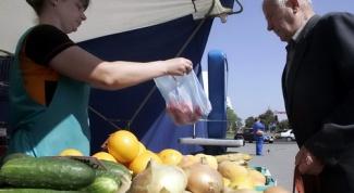 Как торговать овощами