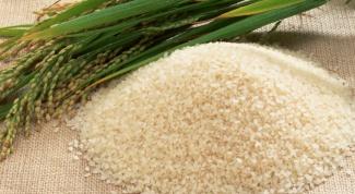 Как вывести соли рисом