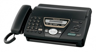 How to adjust the Panasonic Fax