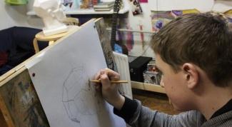 Как рисовать гипсовую голову карандашом