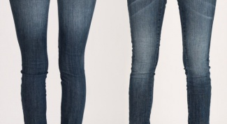Как усадить джинсы
