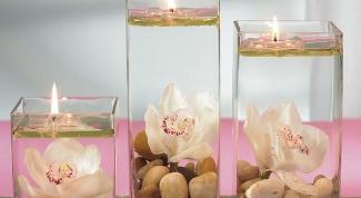 Как сделать прозрачную свечу