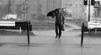 Как фотографировать дождь
