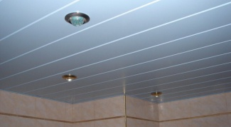 Как рассчитать реечный потолок