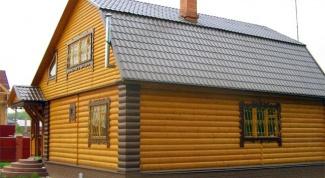 Как отделать вагонкой дом