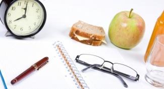 Как выбрать время для приема пищи