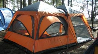 Как отремонтировать палатку
