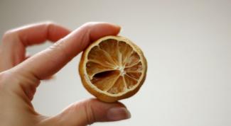 Как засушить лимон
