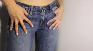 Как вывести жирное пятно с джинсов