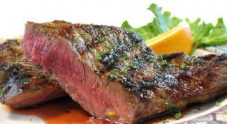 Как приготовить говяжий стейк